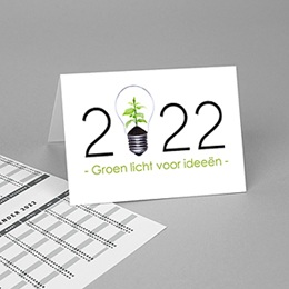 Calendrier Professionnel Loisirs Groen idee