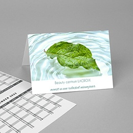 Zakkalender Water & Leaf