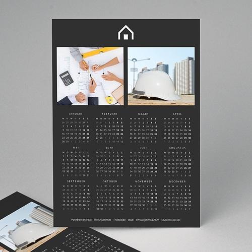 Professionele kalender - Verticaal, Zwart en pro 35439 thumb