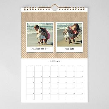 Muurkalender 2020 - Memories met foto's - 1