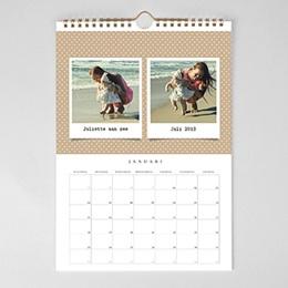 Personaliseerbare kalenders 2018 - Memories met foto's - 1