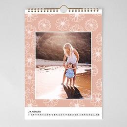 Personaliseerbare kalenders - Esprit floral - 1