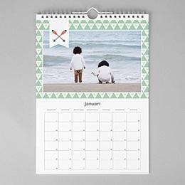 Muurkalender A3 geometrische kalender