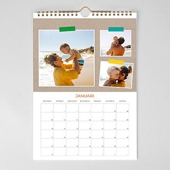 Personaliseerbare kalenders Stapels foto's