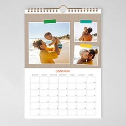 Personaliseerbare kalenders 2018 - Stapels foto's - 1