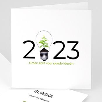 Professionele wenskaarten - Groen idee - 1