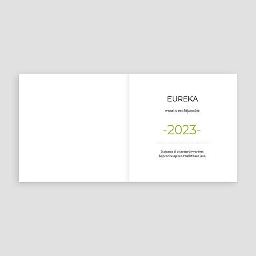 Professionele wenskaarten - Groen idee 35750 thumb