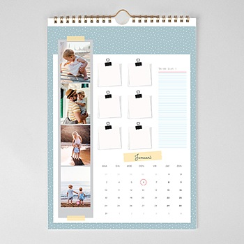 Muurkalender 2020 - Familiekalender - 1