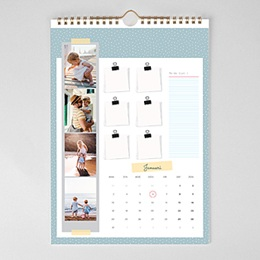 Personaliseerbare kalenders - Familiekalender - 1