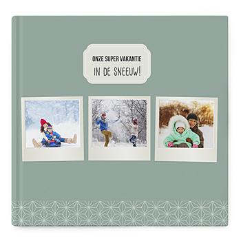 Fotoboeken Vierkant 30x30 cm - Winteralbum - 1