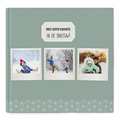Fotoabum vierkant 30x30 cm - Winteralbum 35917 thumb