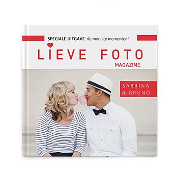 Fotoboeken Vierkant 20x20 cm - Album vol liefde - 1