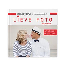 Fotoabum vierkant 20x20 cm - Album vol liefde - 1