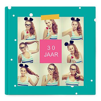 Fotoboeken Vierkant 30x30 cm - Verjaaralbum - 1