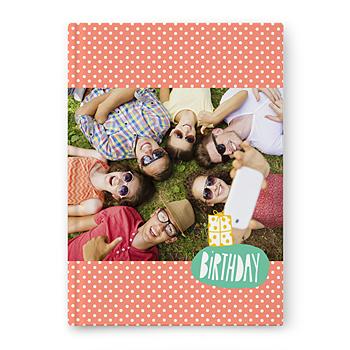 Fotoboeken A4 Staand - kleurrijk fotoalbum - 1
