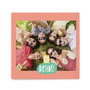 Fotoboeken Vierkant 20x20 cm - kleurrijk fotoalbum - 1