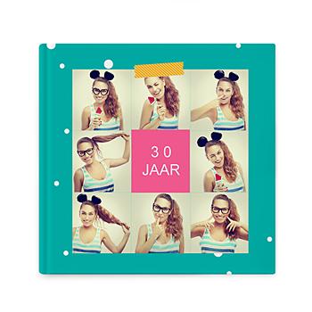 Fotoboeken Vierkant 20x20 cm - Verjaaralbum - 1