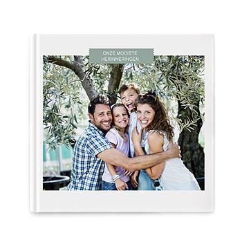 Fotoboeken Vierkant 20x20 cm - Stralend wit - 1
