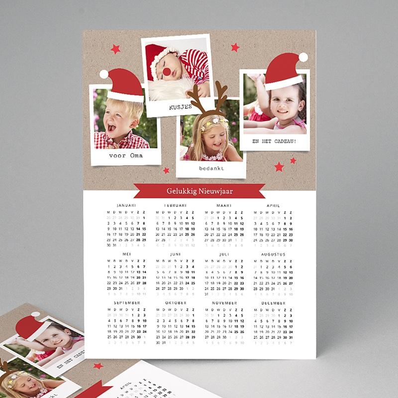 Kalender jaaroverzicht - magische eerste kerst  36185 thumb