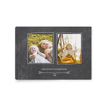 Fotoalbum A5 liggend - Album op leisteen - 0