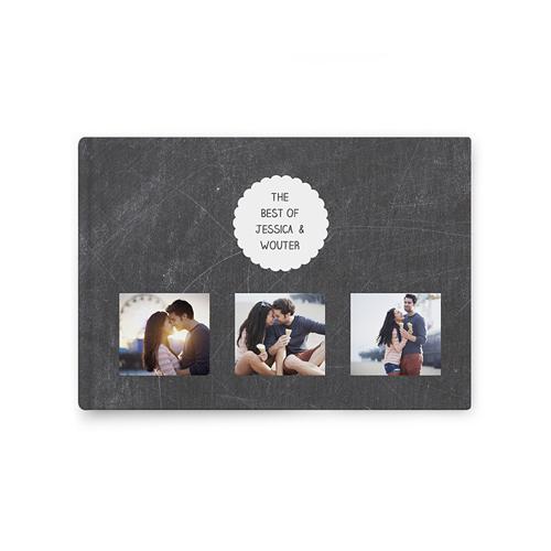 Fotoalbum A5 liggend - Leisteen album 36199 thumb