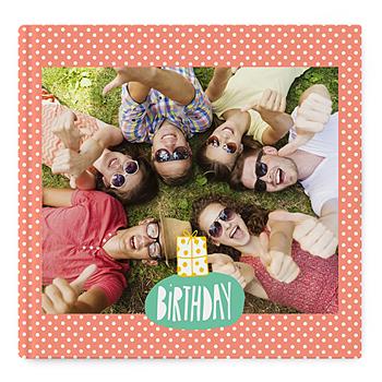 Fotoboeken Vierkant 30x30 cm - kleurrijk fotoalbum - 0