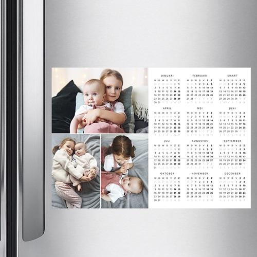 Kalender jaaroverzicht - Persoonlijke kalender kleuren 36297 thumb