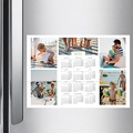 Kalender jaaroverzicht - kleuren kalender multifoto 36301 thumb