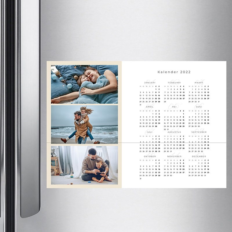 Kalender jaaroverzicht Kalender 755 pas cher