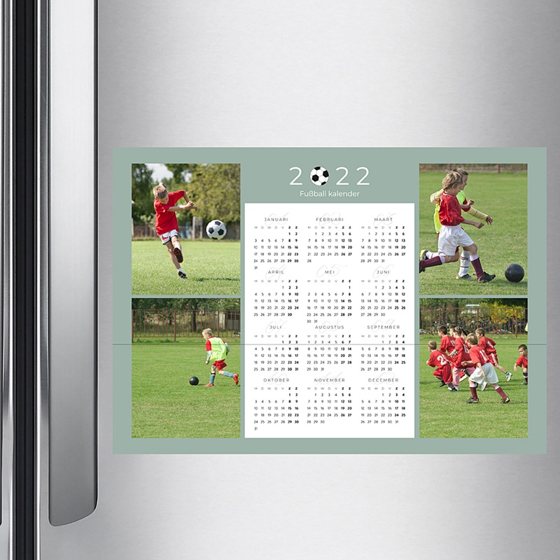 Kalender jaaroverzicht - Voetbalkalender 36322 thumb