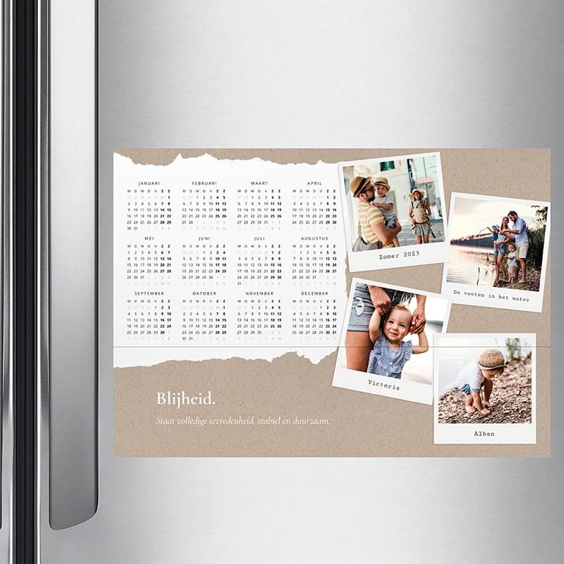Kalender Jaarplanner 2020 muurkalender pas cher