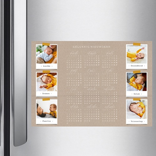 Kalender jaaroverzicht - Collage kalender 36385 thumb