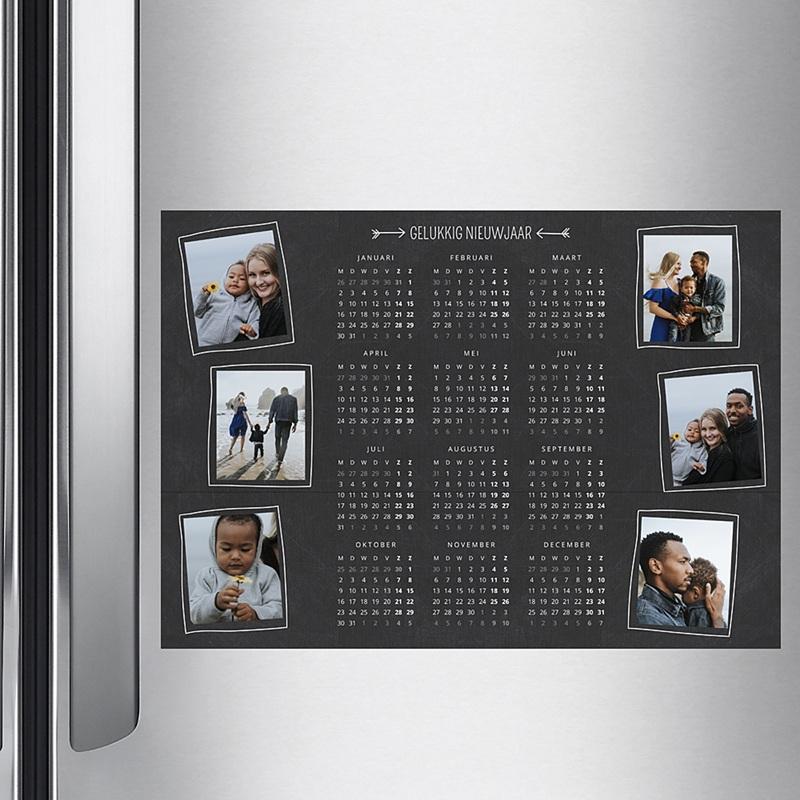 Kalender jaaroverzicht - Schoolbord  36404 thumb