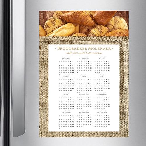 Professionele kalender Gebakken nieuwjaar pas cher