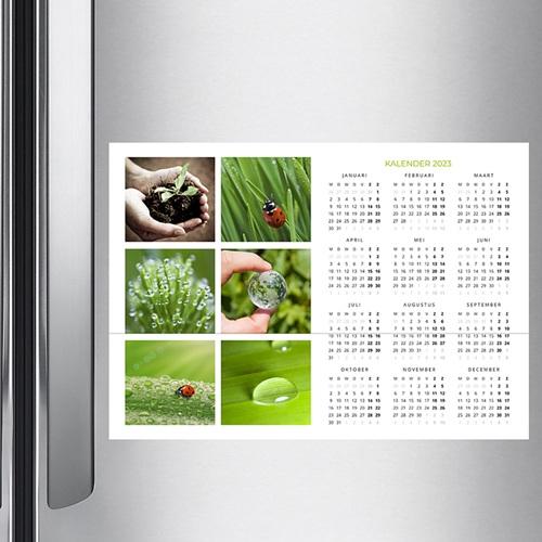 Kalender voor bedrijven Groen Jaar pas cher