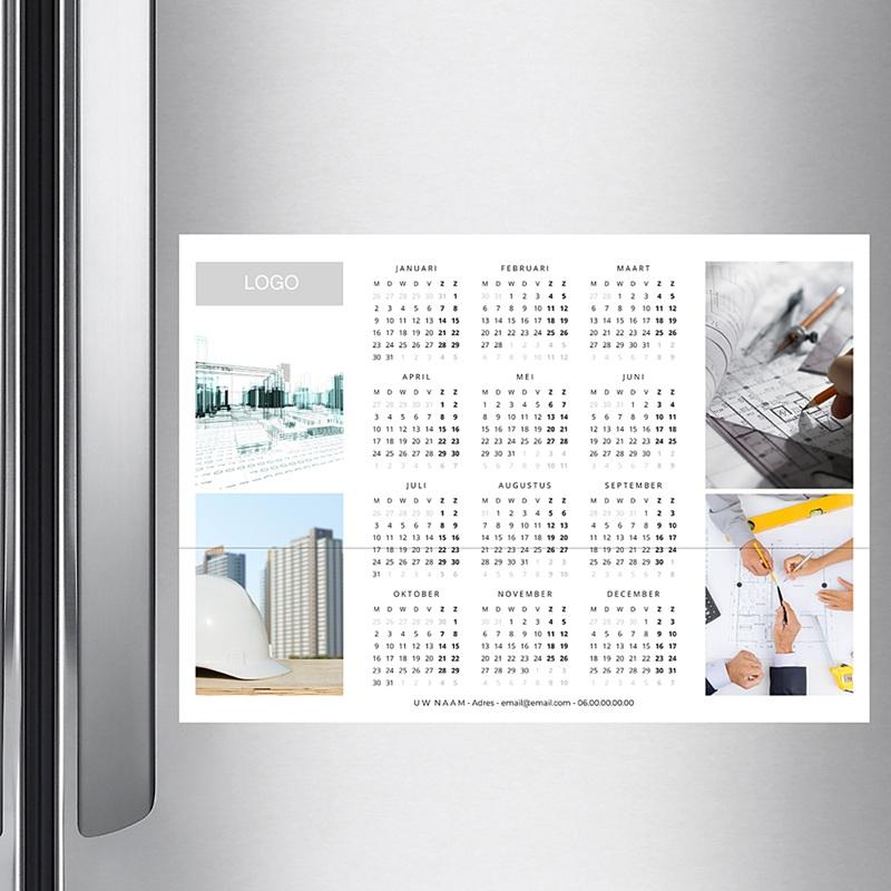 Professionele kalender - Wit en pro 36450 thumb