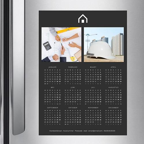 Professionele kalender - Verticaal, Zwart en pro 36463 thumb