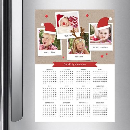 Kalender jaaroverzicht - magische eerste kerst  36503 thumb