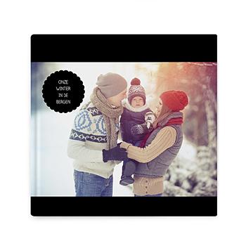 Fotoboeken Vierkant 20x20 cm - black is back - 0