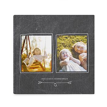 Fotoboeken Vierkant 20x20 cm - Album op leisteen - 0