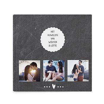 Fotoboeken Vierkant 20x20 cm - Leisteen album - 0