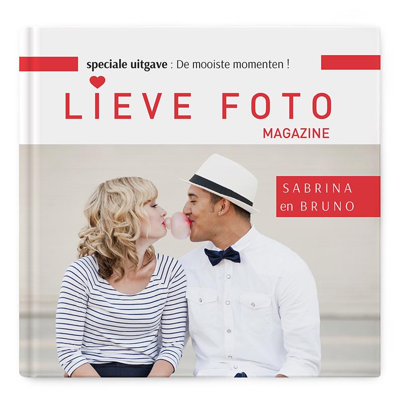Fotoabum vierkant 30x30 cm - Album vol liefde 36832 thumb
