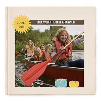 Fotoboeken Vierkant 30x30 cm - Een wereldalbum - 0