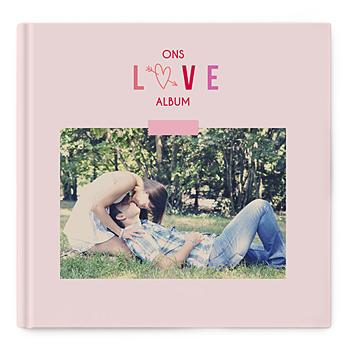Fotoboeken Vierkant 30x30 cm - Valentijns album - 0