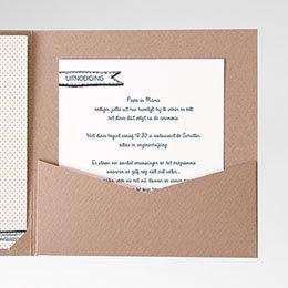 Cartes d'invitations familieboodschap