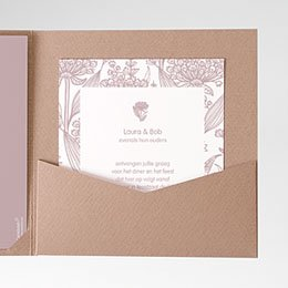 Cartes d'invitations Vintage feelings