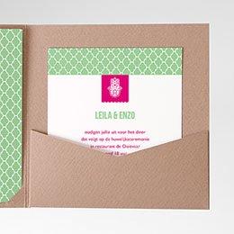 Cartes d'invitations Trouwen met een smaakje