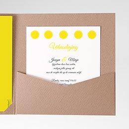 Cartes d'invitations Citroenhuwelijk