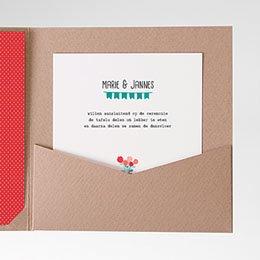 Cartes d'invitations een pot liefde
