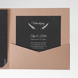Cartes d'invitations Met lauweren